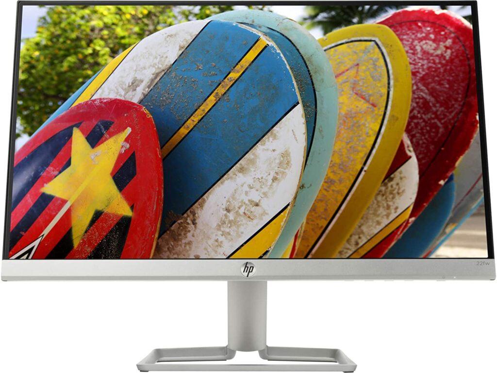 HP 22fw Ultra-Thin Full HD 21.5-inch IPS Gaming Monitor