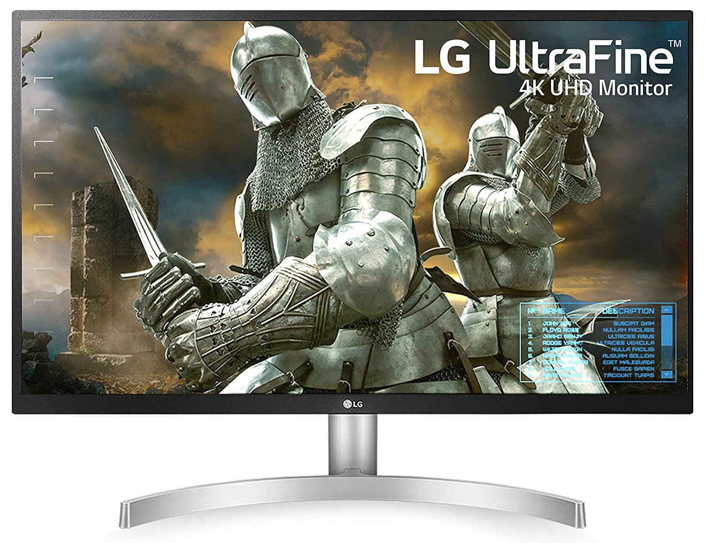 LG 27 Inch 4k UHD HDR Monitor