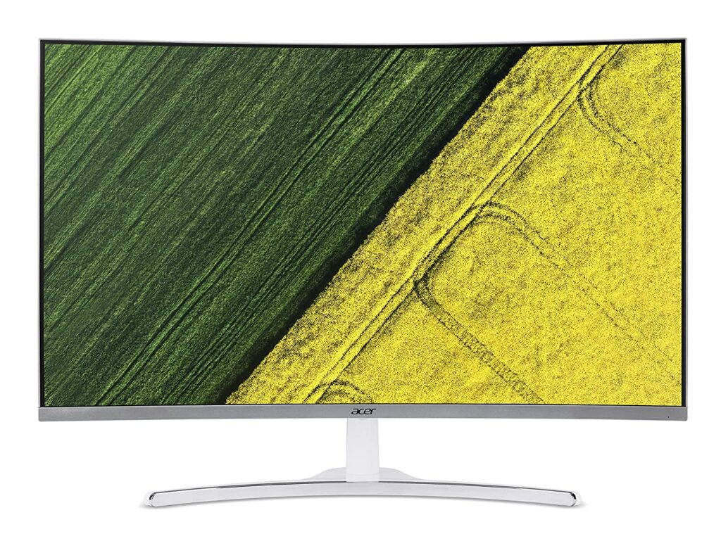 Acer 31.5 Inch Curved Full HD Led Monitor
